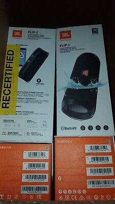 JBL Flip 4 Waterproof Portable Bluetooth Speaker - Black *Authorized Dealer* 2