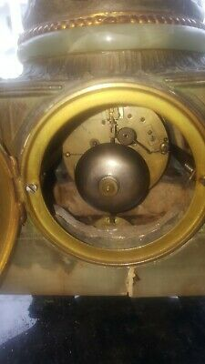 Antique french clocks. rococo looking 10