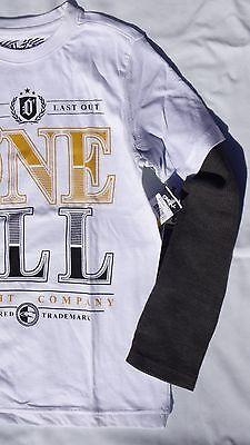 O/'NEILL-Boys Rust Red Riley Long Sleeve T-Shirt 9-10 Years BNWT