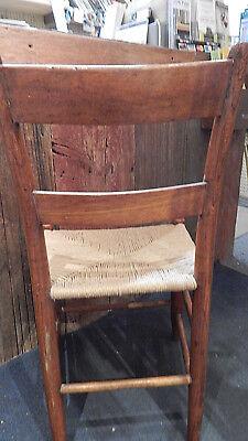 Vintage Rush Bottom Chair 5