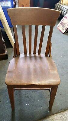 Haywood Wakefield wooden chair 2