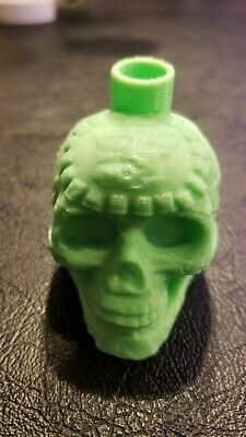 Green Aztec Death Whistle-the disturbing sound can not be forgotten 3D Printed 6