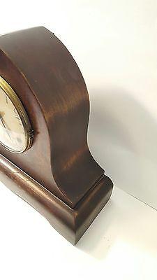 Large Antique Gilbert Mantle Clock w/key- Working 5