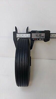 Black Plastic Replacement Jockey Wheel Fits Mp437 155Mm Maypole Genuine Mp226 2
