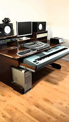 music desk studio desk production desk recording desk daw studio table u2022 picclick - Music Production Desk
