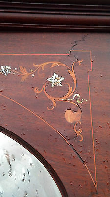 Very nice Inlaid Mother of Pearl Fire place mantle 3