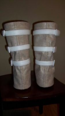 "Hoth ""Snow Boots"" Shoe Covers for your Luke Skywalker / Han Solo Costume"