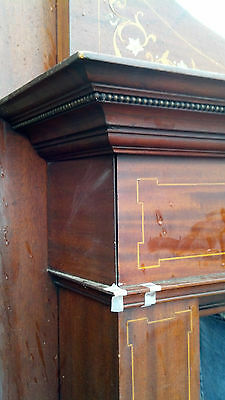Very nice Inlaid Mother of Pearl Fire place mantle 7