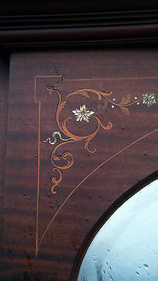Very nice Inlaid Mother of Pearl Fire place mantle 8
