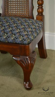 American Drew Bicentennial Edition Tree of Promis Caned Back Slipper Chair 11