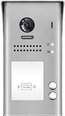 2 Familien 2 Draht Bus Video Türsprechanlage Weitwinkel Kamera 2.0 Mega Pixel 4