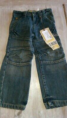 SAVE£40 New Ikks Designer rrp£59.99 boys denim jeans 6yrs BNWT adjustable waist 3