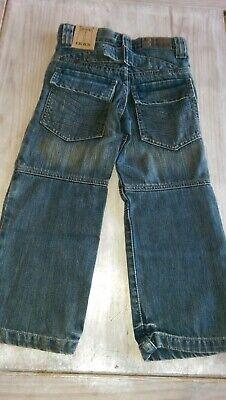 SAVE£40 New Ikks Designer rrp£59.99 boys denim jeans 6yrs BNWT adjustable waist 2