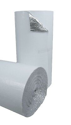 48 In. X 125 Ft White Single Reflective Bubble Insulation Radiant Barrier 500sft 5