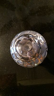 Antique Sterling and Glass Perfume Bottle 2