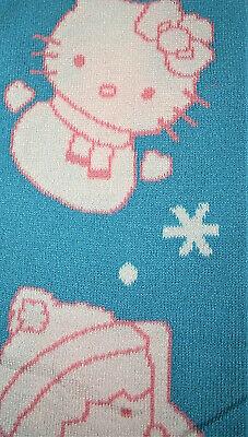 Hello Kitty Sanrio Loot Crate Knit Scarf NOS 2018 MIB Anime