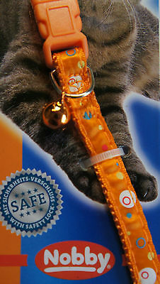 Designer Safety Cat Collars Bright Colours Funky Design Bells & Engraved Id Tag 4