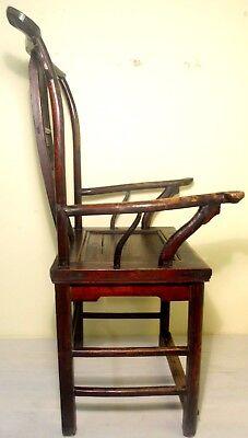 Antique Chinese High Back Arm Chair (2807), Circa 1800-1849 9
