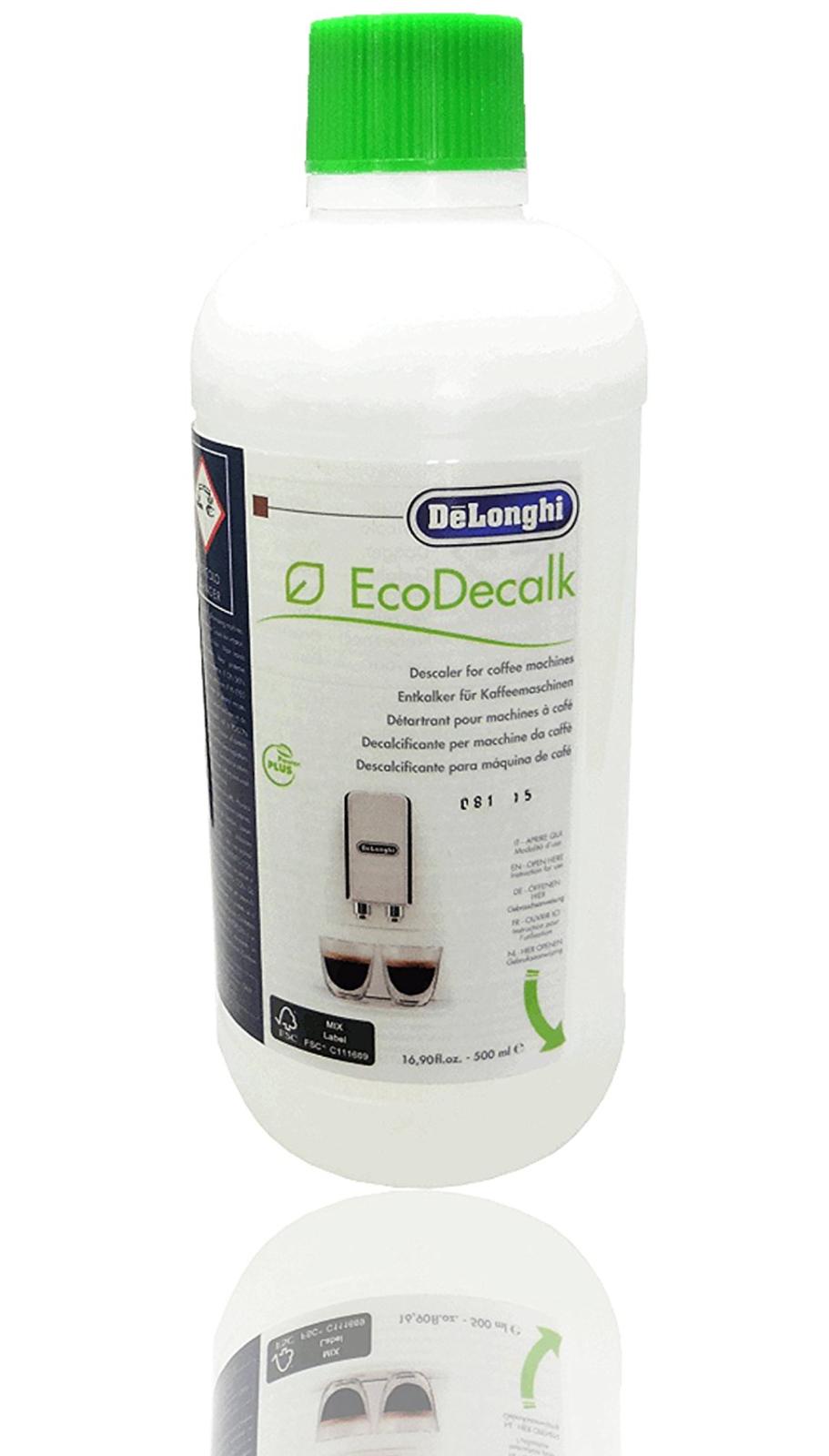 Delonghi Coffee Machine Descaler Espresso EcoDecalk Machines Genuine Descaling