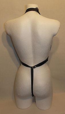 Sexy Leather Corset   S-L   - Das erotische Etwas - Schwarz (414)
