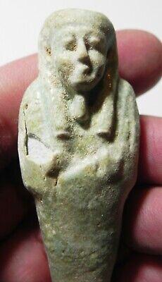 Zurqieh -As16114- Ancient Egypt . Beautiful Ancient Ushabti , 600 - 300 B.c 2