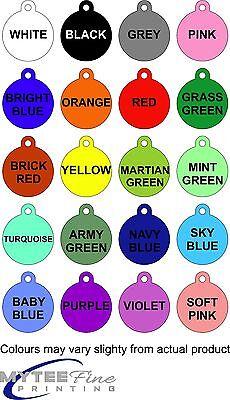 "Cute Dog Cat Pet ID Tag ""Fun Police"" Custom Pet Tag You Choose Color 2"