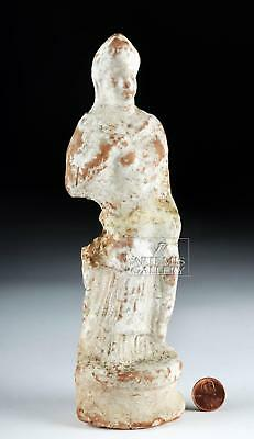 Greek Canosan Terracotta Statuette of Woman, ex-Bonhams Lot 28