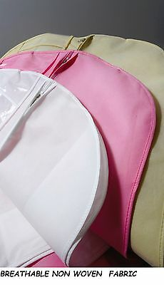 Hoesh International Personalised Breathable Dress Cover Bags for Wedding Dress