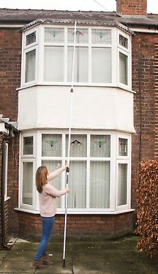 WinHux® 5m Telescopic Extension Pole for Painting Decorating Window Cleaning 2