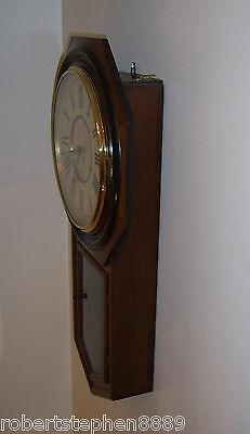 Ansonia 8 Day Wall Clock 3