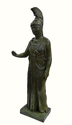 Athena Piraeus Goddess of Wisdom Great bronze Pallas sculpture statue artifact 3 • CAD $4,876.33