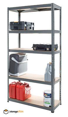Garage Shelving Unit 5 Tier 180x90x40cm Racking Shelf Storage 2
