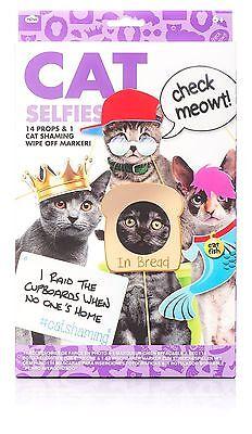 Cat Selfies Photo Booth Props Intagram Pet Costume 2