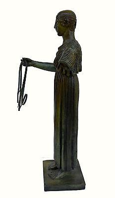 Charioteer Bronze statue of Delphi Ancient Greek reproduction sculpture artifact 5