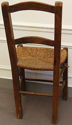 2 sur 4 chaise rustique paille - Chaise Rustique