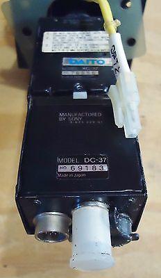Sony Ccd Video Camera Module W/ Power Unit: M/n Xc-37 & Dc-37, S/n 76656 & 69183 2