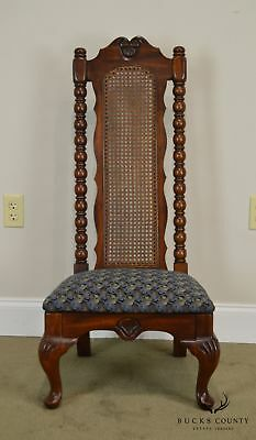 American Drew Bicentennial Edition Tree of Promis Caned Back Slipper Chair 10