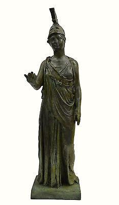 Athena Piraeus Goddess of Wisdom Great bronze Pallas sculpture statue artifact 7