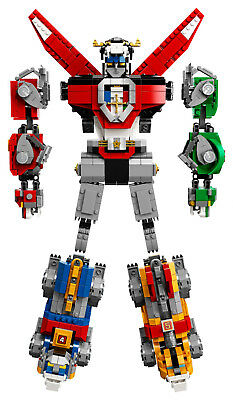 LEGO IDEAS 21311 Voltron Legendary Defender of the UNIVERSE NEU OVP BLITZVERSAND 4