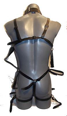 Male Body Harness R-32   - Das erotische Etwas - Schwarz (406) 3