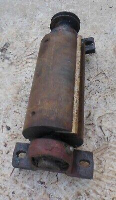 alte 🐷 Welle vom Maschine Drehmaschiene mit Umlenkrolle Ersatzteil für Bastler 6