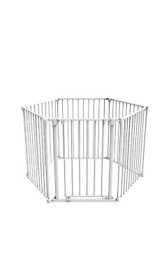 Perma Child Playpen Safety 3 in 1 Barrier Gate Up to 3.7m Long Fits 72cm - 370cm 2