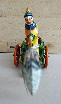 Sonstige Blechspielzeug Blechspielzeug Clown Mit Trommel °° Tin Toy °° Jouet En Tôle °° Ohne RüCkgabe