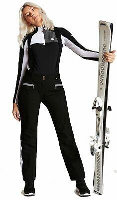 dare2b Damen Skisport Wintersport Ski-Hose Softshellhose Clarity Pant weiss