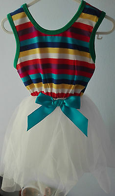 Girls Dresses, Beautiful Elegant  5 Frills Tail for Parties or any Occasion 2