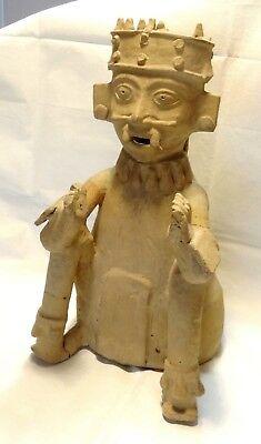 Very Large Figure Veracruz - Pre-columbian 500 ad - Ancient Remojadas Figure 6