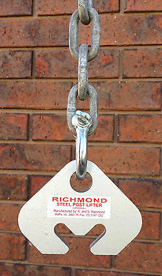 Richmond Steel Post Lifting Tool. Star Picket Remover Puller Lifter