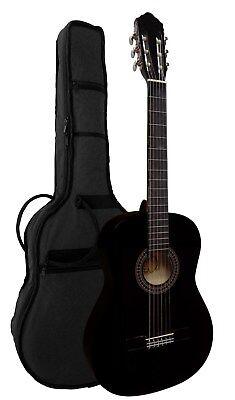 4/4, Gitarre  mit Tasche+Band+Kapodaster+extra Saiten+ Stimmpfeife -Set!!21*b 2