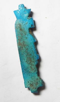 Zurqieh- Af535- Ancient Egypt, 18Th Dynasty, Fainece Amulet Tawaret. 1400 B.c 2