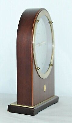 Vintage JUNGHANS Quartz Montreux Reese's Hershey Clock - Made In Germany 4